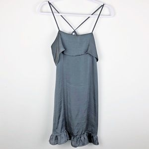 ANTHRO✨Eloise Gray Slip Dress sz S